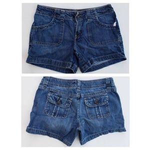 Old Navy Low Waist Denim Shorts sz 8